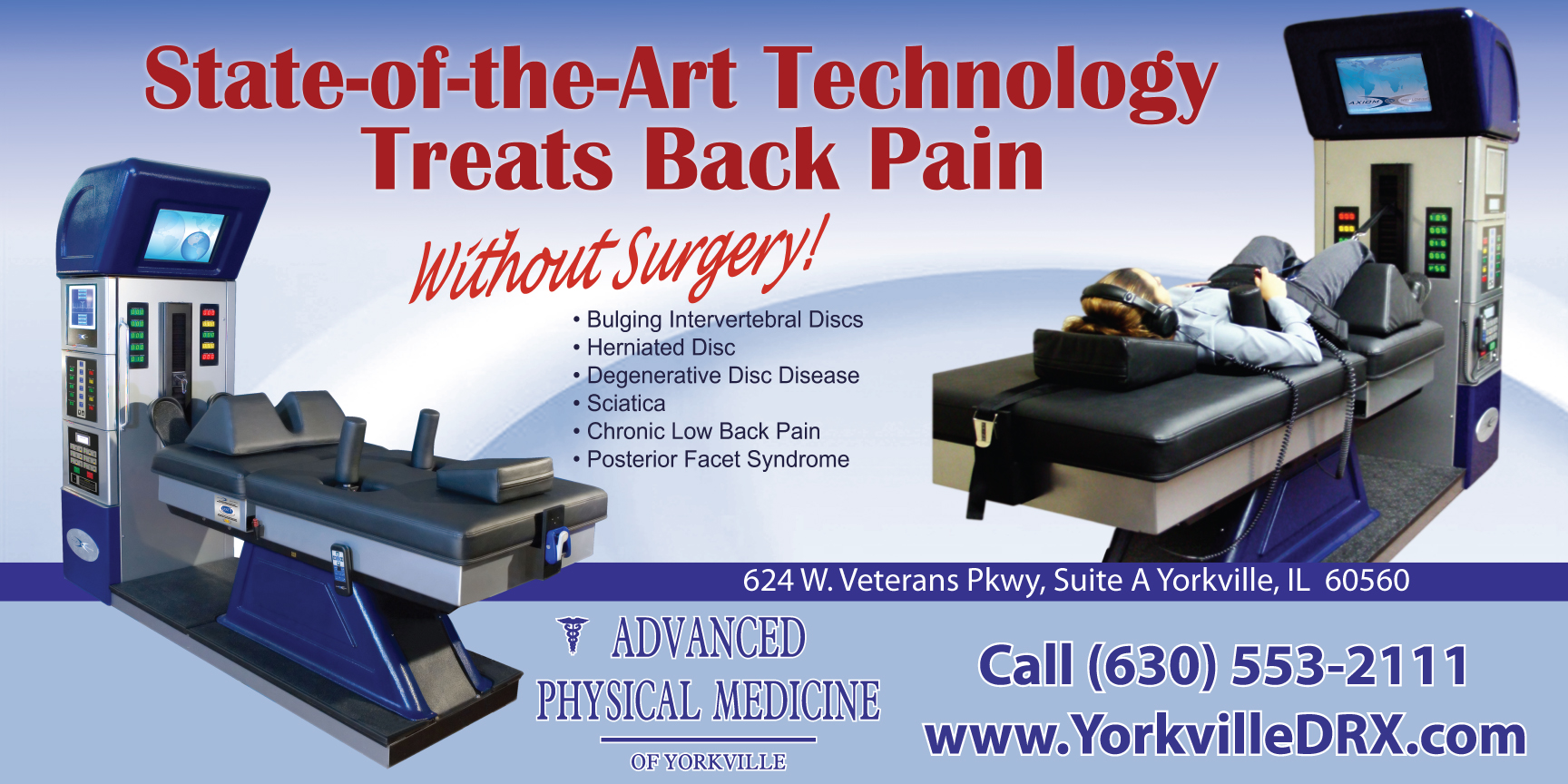 Yorkville non-surgical spinal decompression